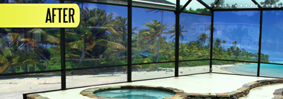 Pool Privacy Screen pestguard watergate® pest control deck drains pool screen